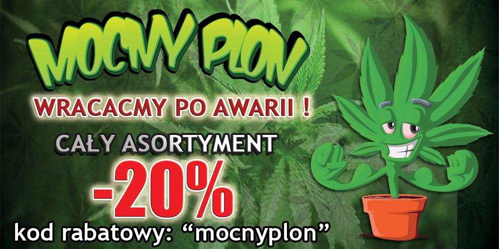 MocnyPlon.pl - Przyjazny sklep z nasionami marihuany :)
